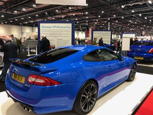 Rare one off Jaguar XKR-S signed by Ian Callum