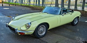 Picture of 1972 JAGUAR E-TYPE SERIES III OTS V12 ROADSTER For Sale