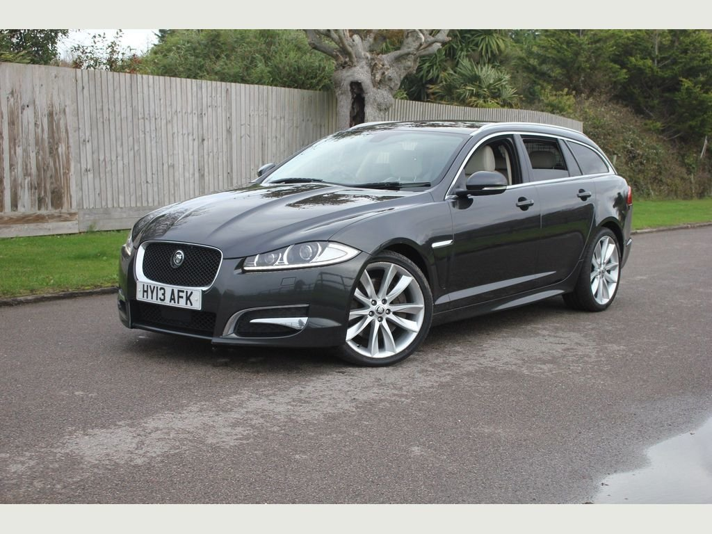 2013 Jaguar XF 3.0 TD V6 S Portfolio Sportbrake (s/s) 5dr 1 OWNER For Sale (picture 1 of 1)