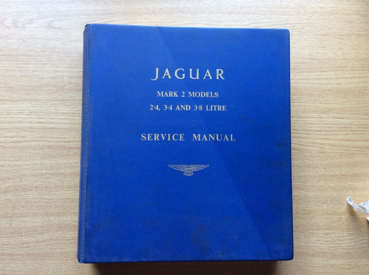 Service manual for all mark 2 models For Sale (picture 1 of 6)