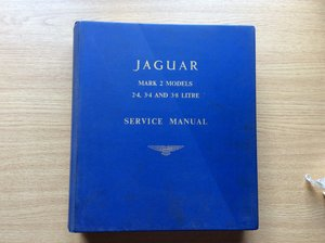 Picture of Service manual for all mark 2 models For Sale