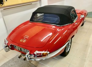 Picture of 1967 Jaguar E type Series 1 1/2 OTS Roadster. For Sale