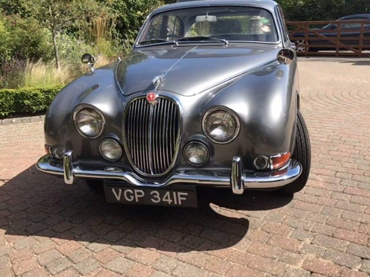 1968 Superb 3.4 Jaguar S Type 65500 miles For Sale (picture 4 of 5)