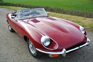 Picture of 1969 JAGUAR E TYPE 4.2 MANUAL ROADSTER For Sale