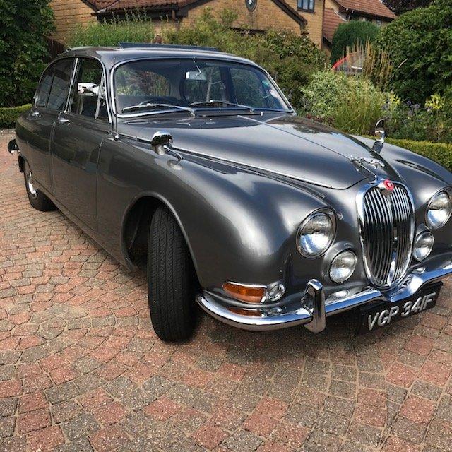 1968 Superb 3.4 Jaguar S Type 65500 miles For Sale (picture 1 of 5)