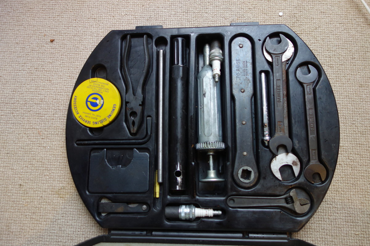 1968 Jaguar / Daimler tool kit SOLD (picture 1 of 4)