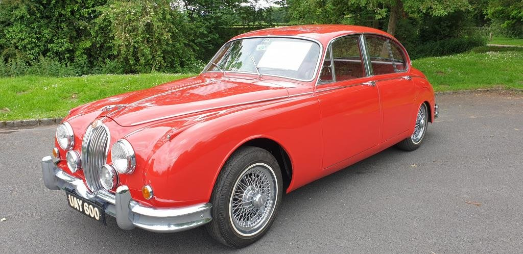 1959 Jaguar mk2 3.4 manual with overdrive beautiful For Sale (picture 1 of 10)