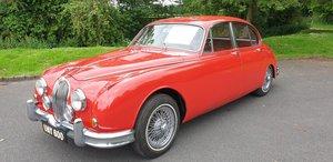 Jaguar mk2 3.4 manual with overdrive beautiful