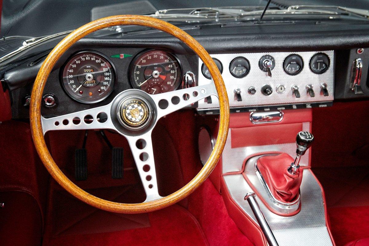 1961 Jaguar E-Type 3.8 series 1 OBL Flat floor Roadster For Sale (picture 8 of 11)