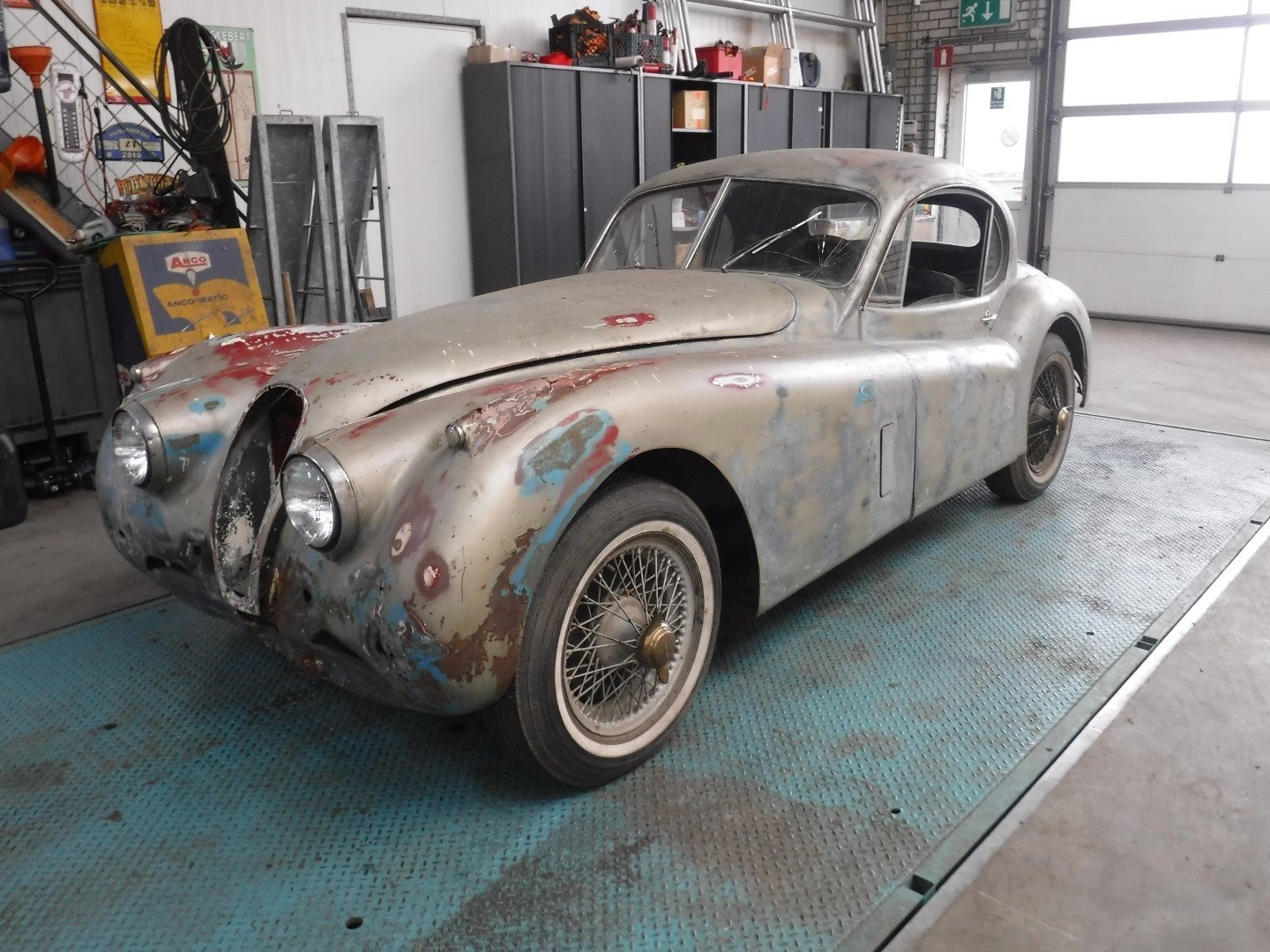 Jaguar XK120 coupe 1951 (to restore!) For Sale   Car And ...