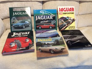Picture of Seven Jaguar Books For Sale