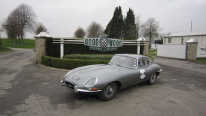 An iconic E-Type, perfect for the 60th Anniversary.