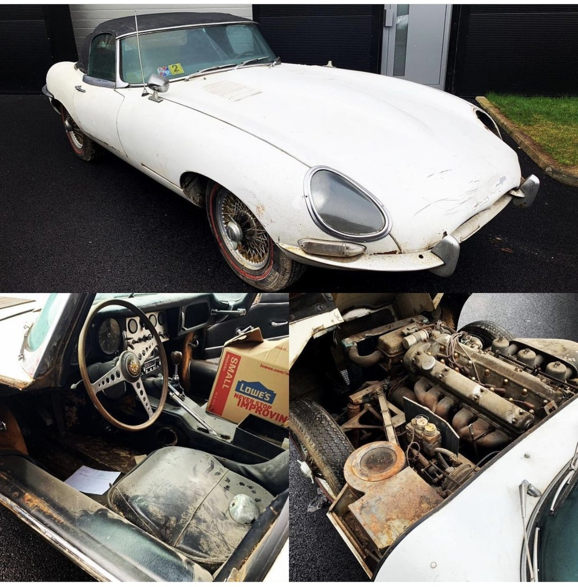 1965 E Type Series 1 project For Sale (picture 1 of 1)