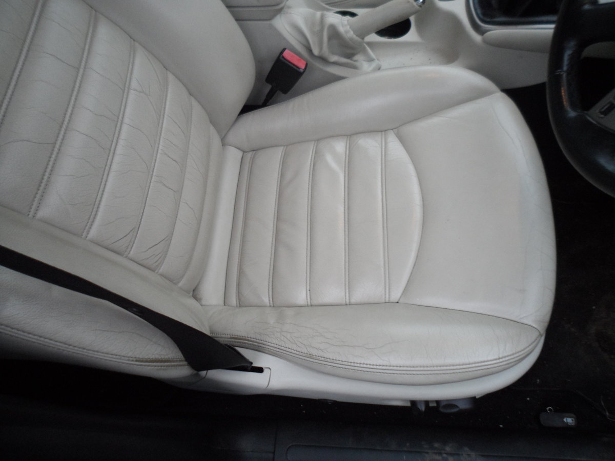 2008 SMART BLACK JAGUAR X TYPE S.E ESTATE TOURING + LEATHER MOTED For Sale (picture 6 of 12)