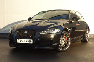 Jaguar XFR 5.0 2013/13 FSH Sunroof Black-Pack Sat Nav