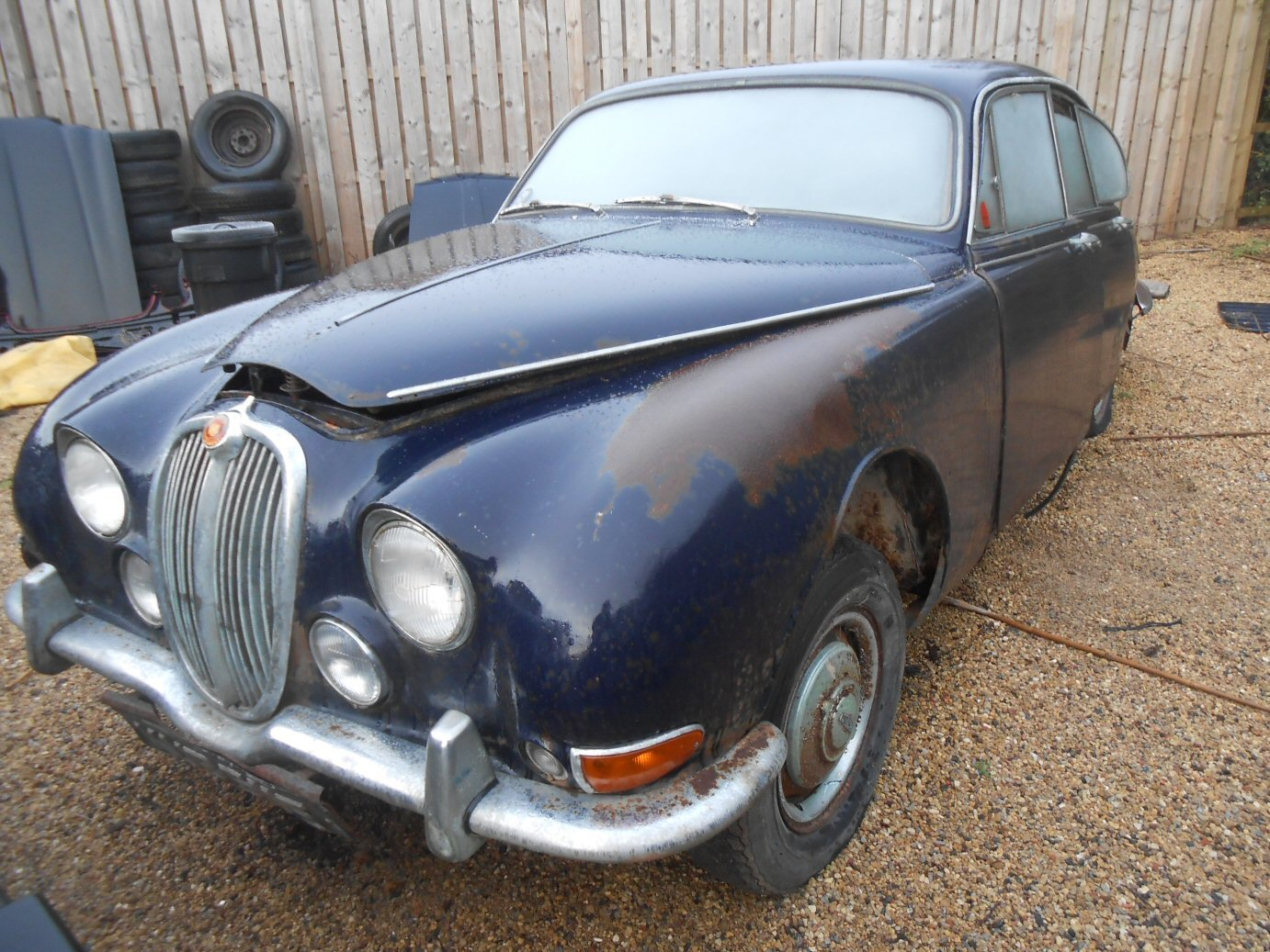 JAGUAR S TYPE 1967 3.4 AUTOMATIC For Sale (picture 1 of 2)