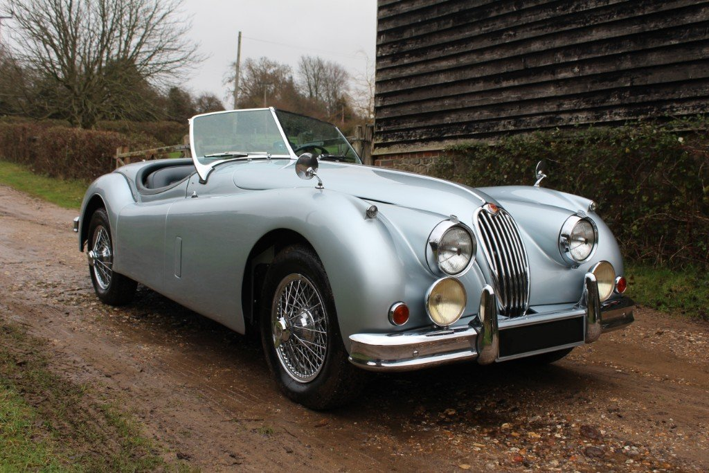 1957 Jaguar XK140 SE Roadster, For Sale (picture 1 of 8)