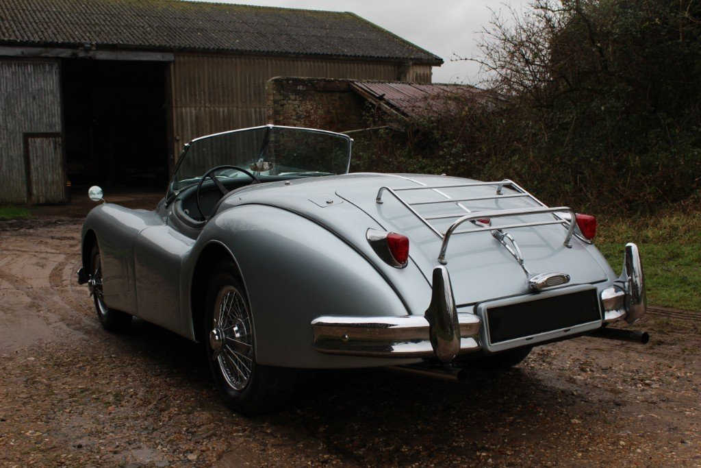 1957 Jaguar XK140 SE Roadster, For Sale (picture 4 of 8)