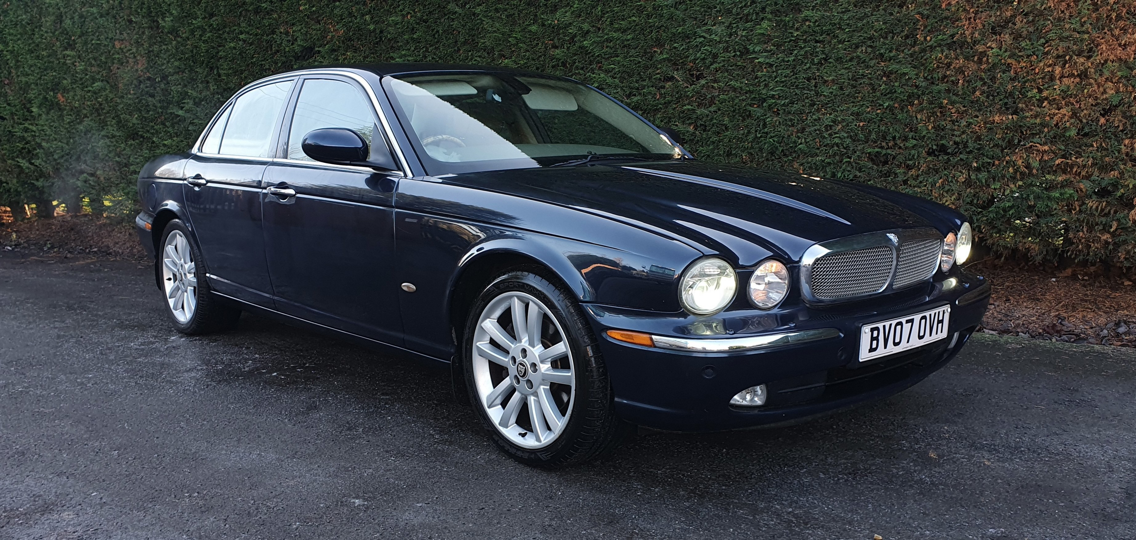 2007 X356 3.0 V6 XJ SOVEREIGN, FULL M/D HISTORY, UK CAR For Sale (picture 1 of 3)