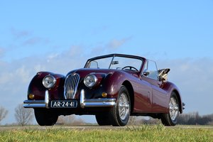 Picture of 1956 Jaguar XK140DHC - overdrive For Sale