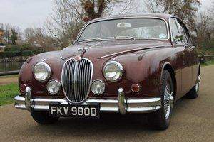 1966 Jaguar Mk 2 3.4 (Just 33,000 Miles)