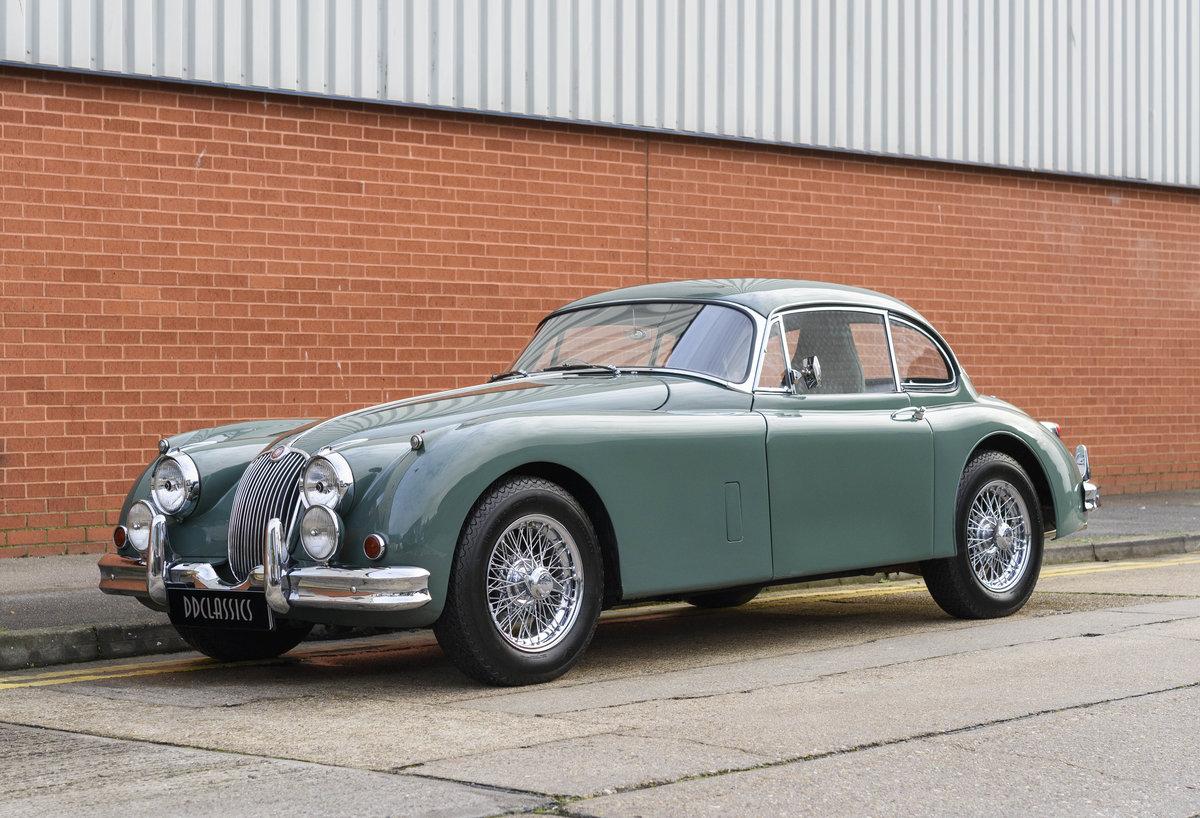 1959 Jaguar XK150 FHC 3.8 (RHD) For Sale (picture 1 of 33)