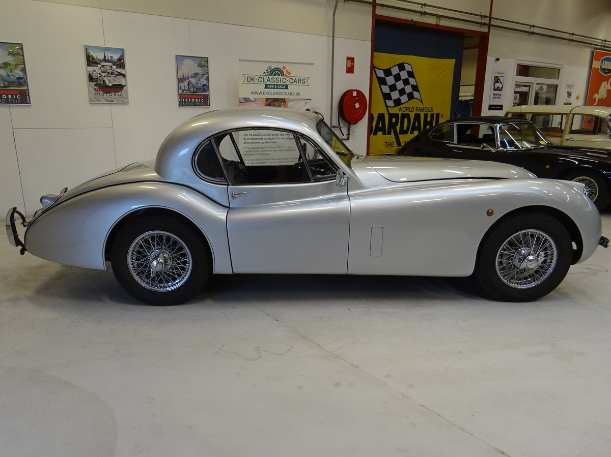 1951 Jaguar XK120 - Fixed-Head Coupe For Sale (picture 8 of 50)
