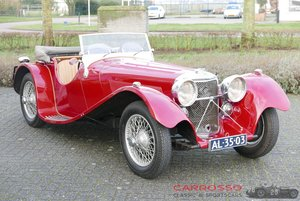 Picture of Jaguar SS100 3.5 1936 a very beautiful car For Sale