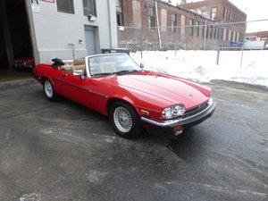 Picture of 1989 Jaguar XJS V12 Convt Low Miles Presentable Driver- For Sale