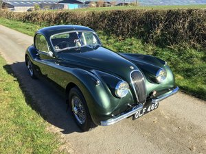 Picture of XK120FHC Supplied new By Henlys of London to Patsy Burt 1954 For Sale