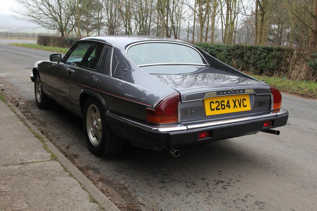 1986 Jaguar XJS 3.6 Manual - Ex Factory promotion car For Sale (picture 4 of 18)