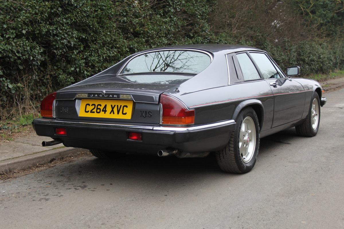 1986 Jaguar XJS 3.6 Manual - Ex Factory promotion car For Sale (picture 6 of 18)