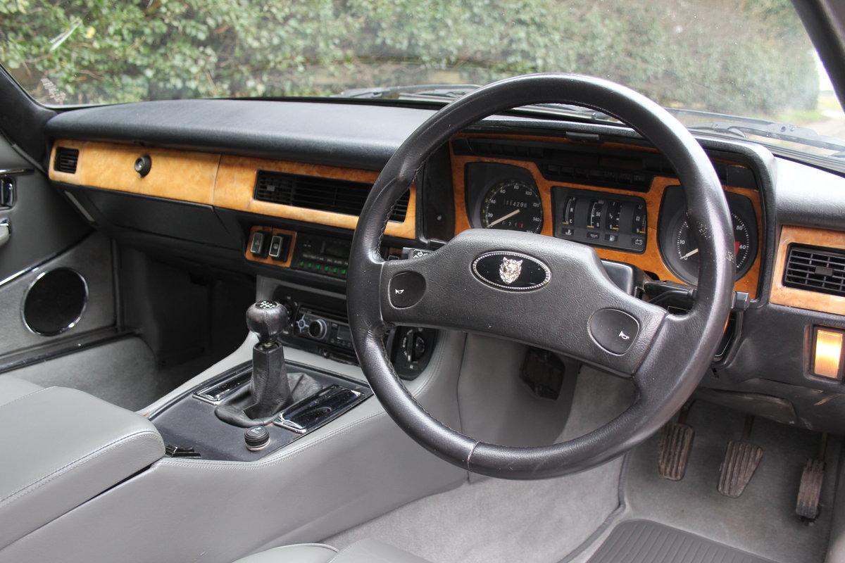 1986 Jaguar XJS 3.6 Manual - Ex Factory promotion car For Sale (picture 7 of 18)