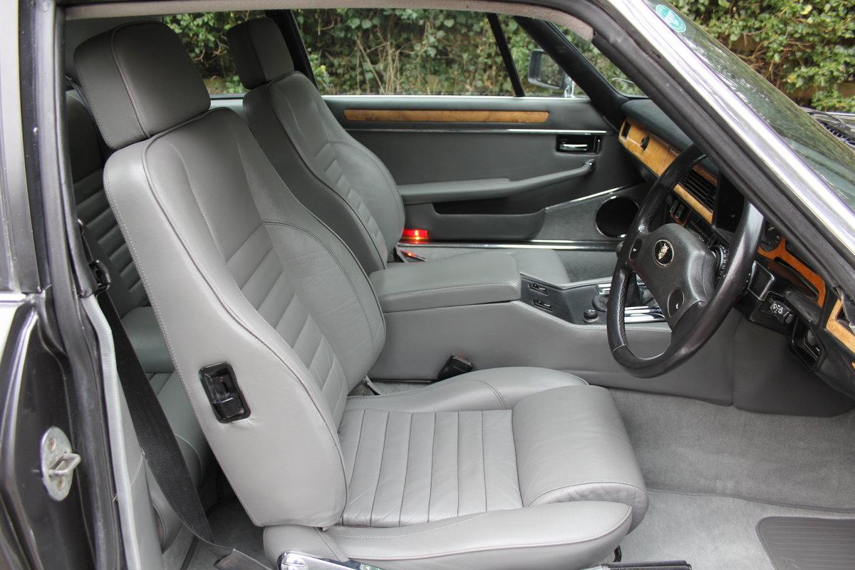 1986 Jaguar XJS 3.6 Manual - Ex Factory promotion car For Sale (picture 8 of 18)