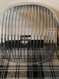 Picture of 1951 C Type Jaguar Chrome Grill For Sale