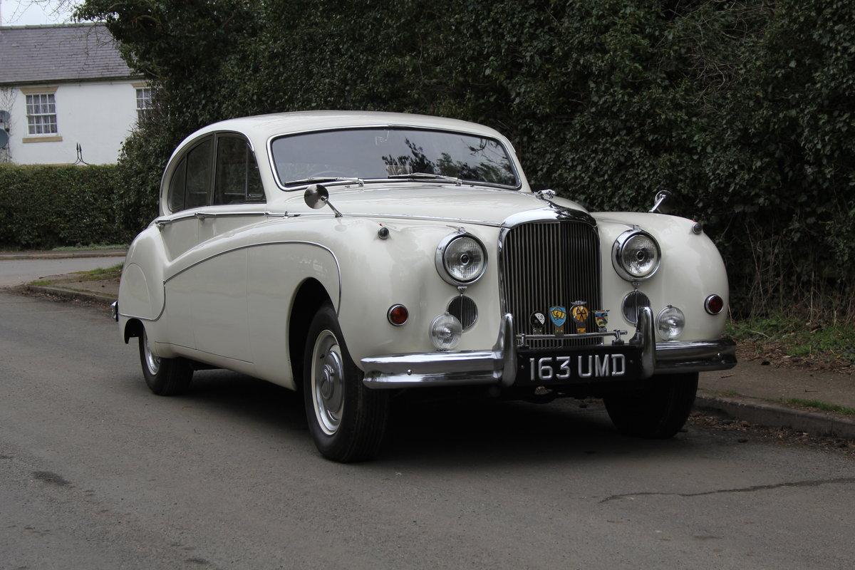 1958 Jaguar Mk IX 3.8 Automatic Saloon For Sale (picture 1 of 19)