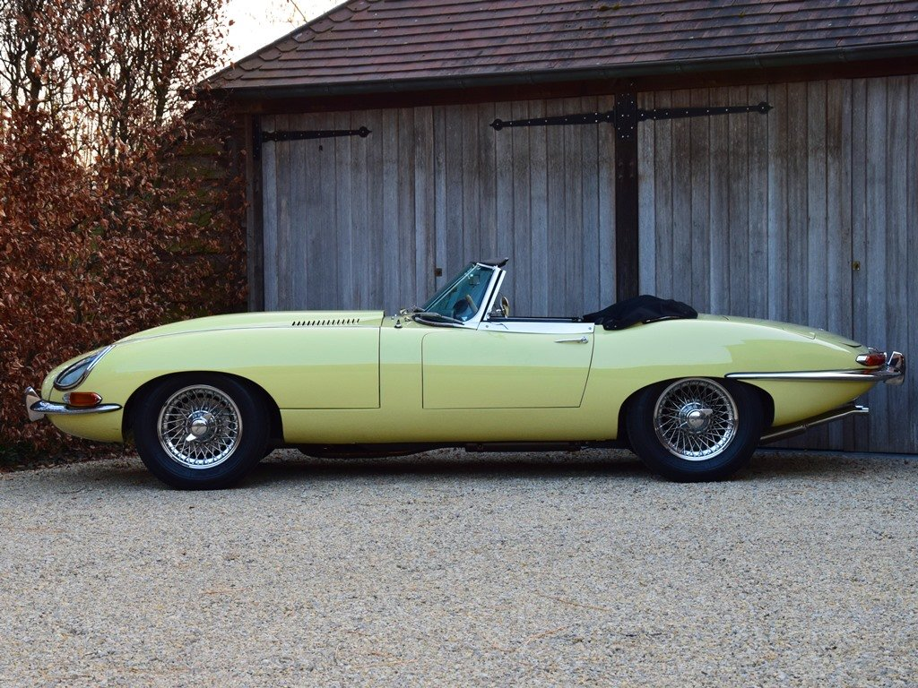1964 Jaguar E-Type 3,8 Litre OTS. Getrag 5-speed gearbox. LHD For Sale (picture 3 of 12)