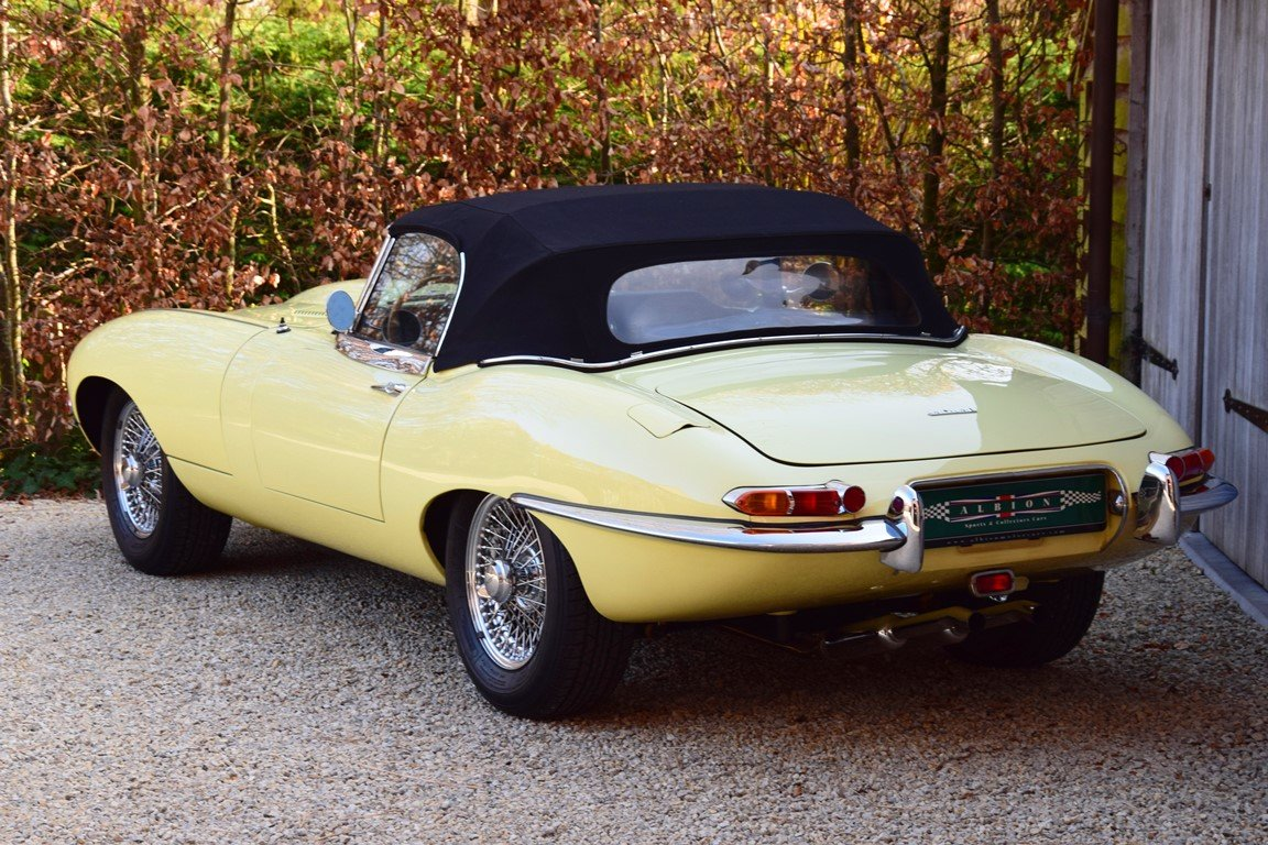1964 Jaguar E-Type 3,8 Litre OTS. Getrag 5-speed gearbox. LHD For Sale (picture 4 of 12)