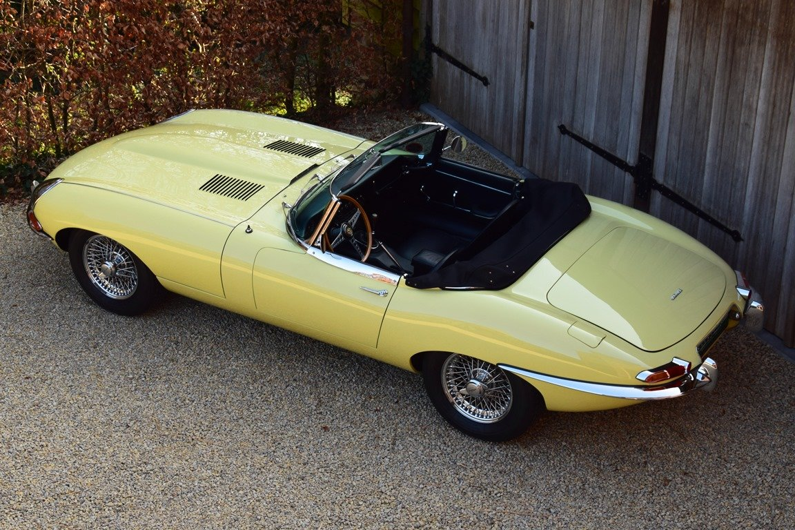 1964 Jaguar E-Type 3,8 Litre OTS. Getrag 5-speed gearbox. LHD For Sale (picture 7 of 12)