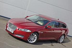Picture of Jaguar XF 2.2TDi 200 Premium Lux Sportbrake 2013/62 FSH For Sale