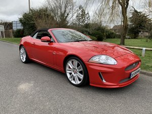 Picture of 2010 Jaguar XKR 5.0 V8 Supercharged Convertible ONLY 27000 MILES For Sale