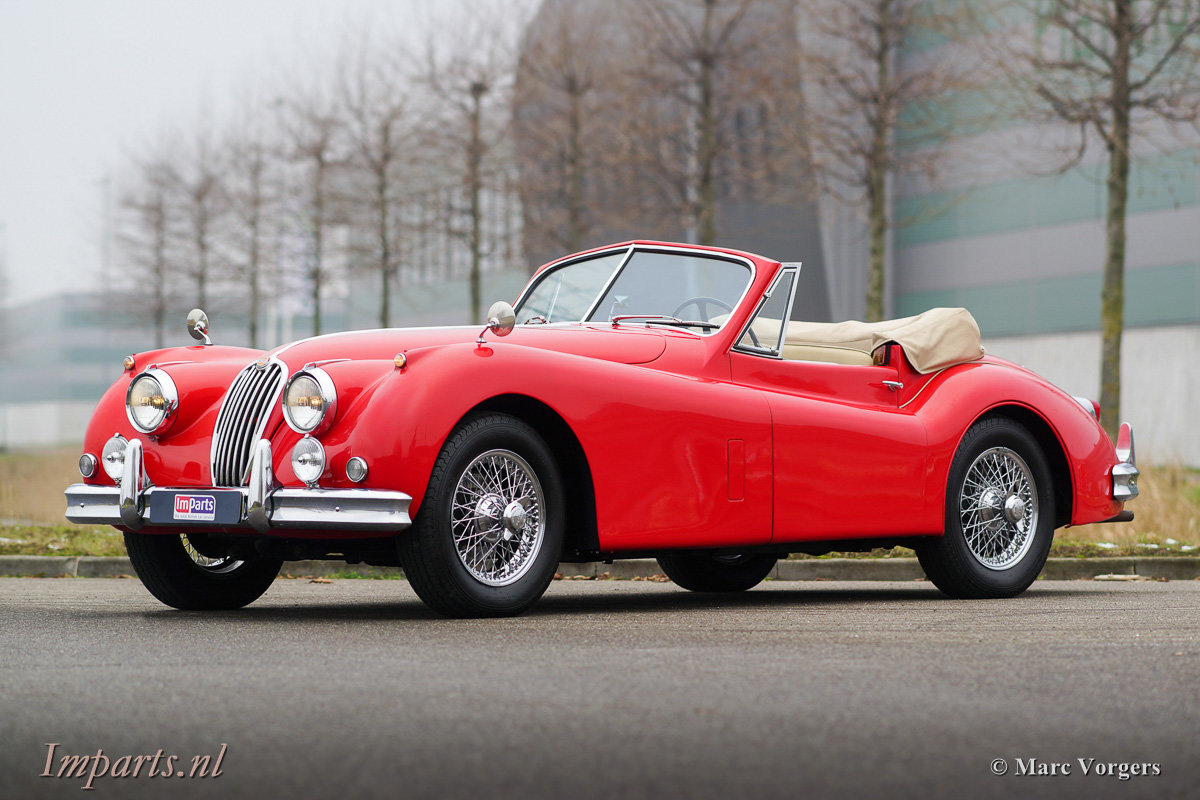 1956 Very nice Jaguar XK140 SE DHC 5 speed (LHD) For Sale (picture 1 of 12)