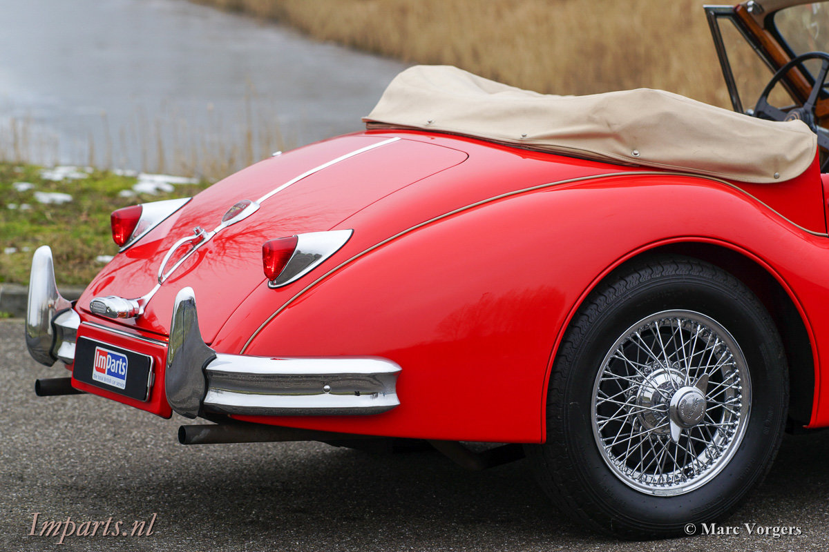 1956 Very nice Jaguar XK140 SE DHC 5 speed (LHD) For Sale (picture 6 of 12)