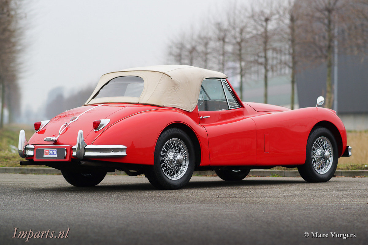 1956 Very nice Jaguar XK140 SE DHC 5 speed (LHD) For Sale (picture 10 of 12)