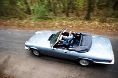 1988 Jaguar XJS 5.3 V12 convertible for hire in the Cotswolds For Hire (picture 1 of 6)