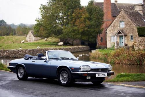 1988 Jaguar XJS 5.3 V12 convertible for hire in the Cotswolds For Hire (picture 4 of 6)