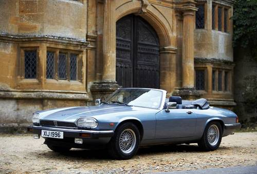 1988 Jaguar XJS 5.3 V12 convertible for hire in the Cotswolds For Hire (picture 6 of 6)