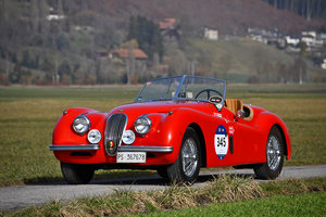 Picture of 1954 Jaguar XK 120 Open Two Seater, matching numbers, Registro MM For Sale