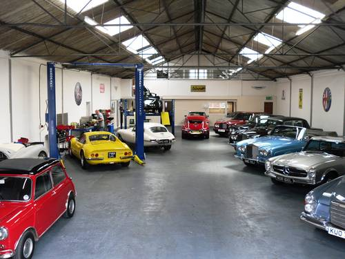 1955 Service repairs and restoration of classic and sports cars   (picture 1 of 6)