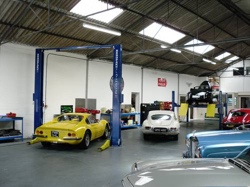 1955 Service repairs and restoration of classic and sports cars   (picture 3 of 6)